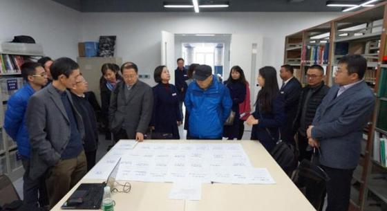 成华区图书馆接受国家文化部评估定级检查
